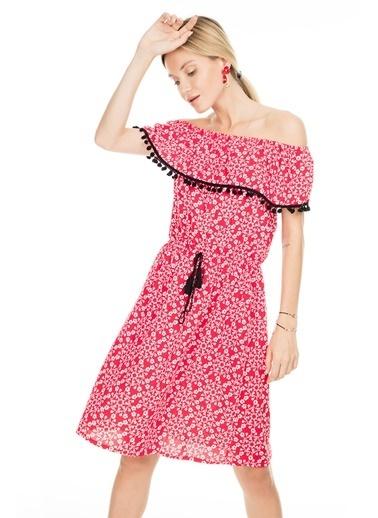 Lela Elbise Kırmızı